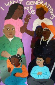 Illustration från Rob Loewes utställning Generations