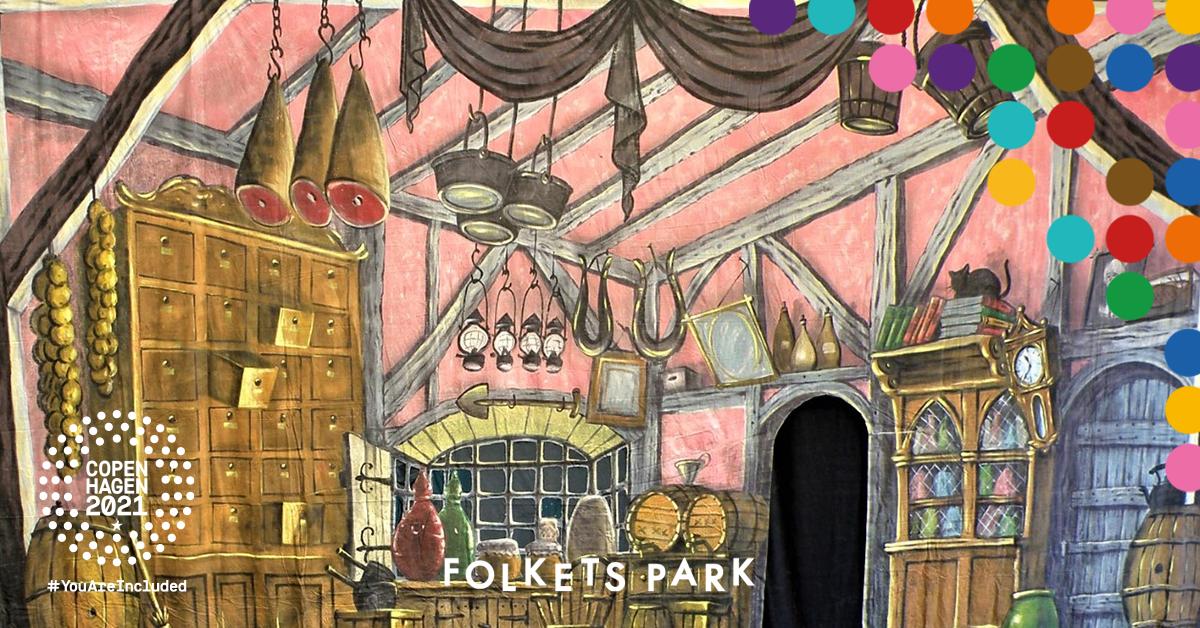 Bild på en illustration av ett kök.